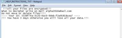 remove MOLE66 Ransomware