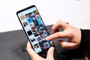 Samsung Galaxy S9 glitch