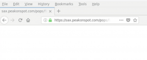 remove Sax.peakonspot.com