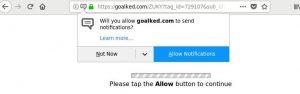remove goalked.com