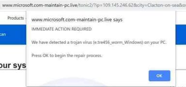 remove Microsoft.com-maintain-pc.live